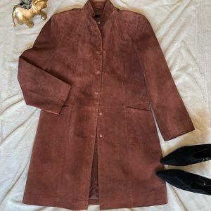 BERNARDO Authentic Suede Jacket